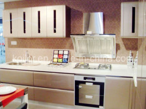 Lacquer Kitchen Cabinet (Modern Space)