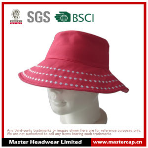 Pink Women Fashion Bucket Hat Sun Hat for Adults