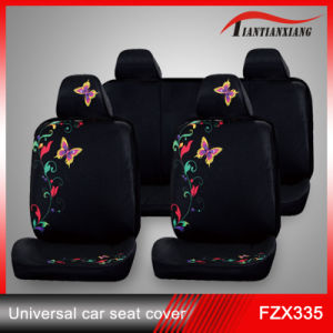 China Hot Selling Fabric Anime Butterfly Girl Car Seat Cover Fzx
