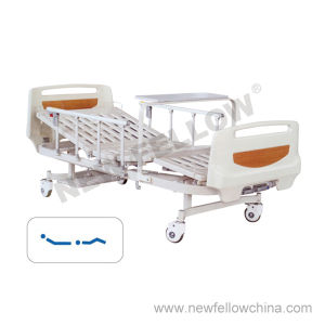 Powder-Coated Steel Medical Bed