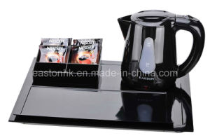 Hospitality Electric Kettle Cordless Kettle with Service Tray pictures & photos