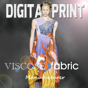 2017 New Design Summer Dress Printed Viscose Fabric pictures & photos