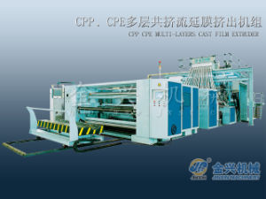 CPP Cpe Multi-Layer Cast Film Extruder pictures & photos
