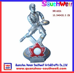 Polyresin Sport Trophy Figurine (NW1402A)
