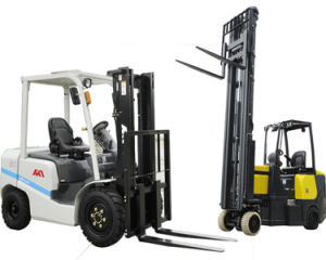 New Factory Forklift Price Fd25t 2.5tons Gasoline Forklift with Japanese Engine