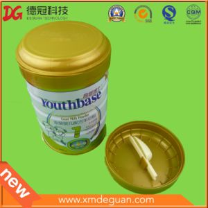 Plastic Powder Can Plastic Cap with Spoon