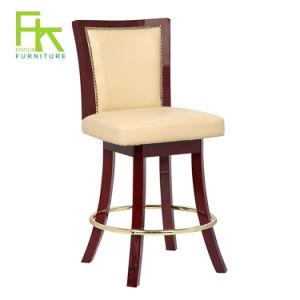 Terrific Hot Item Hot Sale Wood Leg Leather Bar Stool Used Casino Chair Furniture Inzonedesignstudio Interior Chair Design Inzonedesignstudiocom