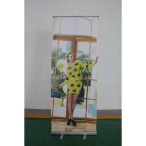 Wholesale Aluminum Recycle Horizontal Banner Display Stand Roll up Banner pictures & photos