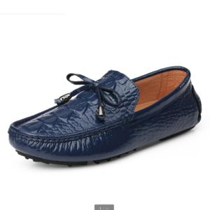 China Fashion Cow Leather Shoes Men Casual Loafer Shoes - China ... ffc0dd56bb0e