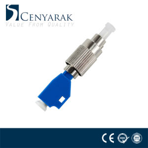 FC Male to ST Female Simplex Fiber Optic Adapter Single Mode SM 9//125