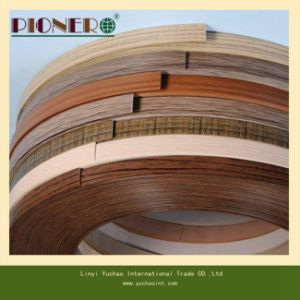 Wood Grain PVC Edge Banding / PVC Strip for Furniture pictures & photos