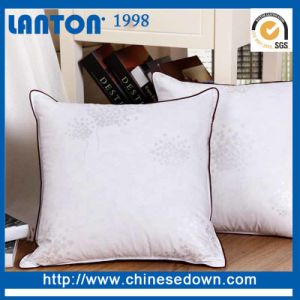 Stock Fabric Down Pillow with Bedding Bag pictures & photos