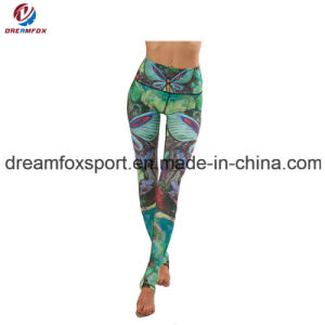 df2ef78b81 Breathable Colorful Yoga Pants Custom Sublimation Printing Yoga Wear