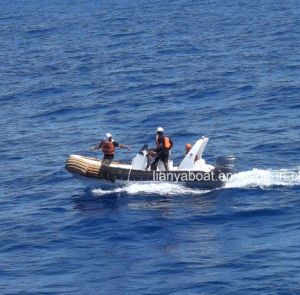 Liya 17FT Inflatable Boat with Motor PVC Rib Boat pictures & photos