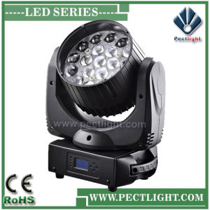 LED 19*15W Moving Head Stage DJ Light with Zoom Wash pictures & photos