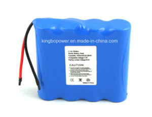 7.4vlithium Ion Rechargeable Battery Pack for LED Products (4400mAh)