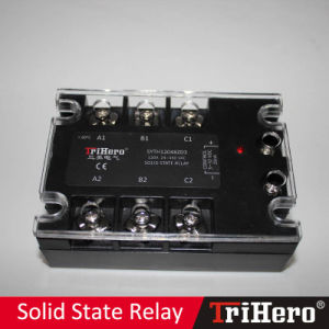 120A DC/AC SSR Solid State Relay 3-Phase pictures & photos