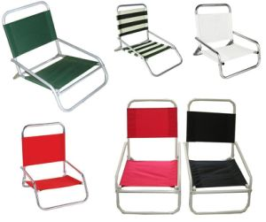 Cheap High Quality Outdoor Furniture Portable Beach Chair with Cup Holder
