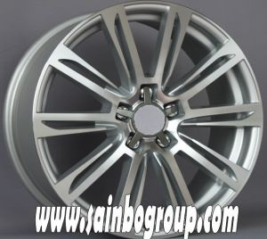 F1030 Hot Sale Vacuum Chrome Replica Alloy Wheels pictures & photos
