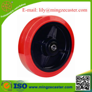 Polyurethane on Polypropylene Core Wheel pictures & photos