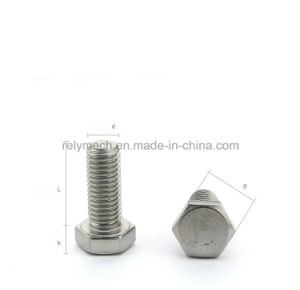 Stainless Steel 304 Hexagon Cap Screw/Hexagon Bolt M10 pictures & photos