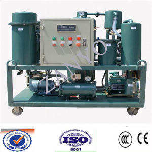 Auto High-Efficiency Vacuum  Lubricant Oil Purifier Machine