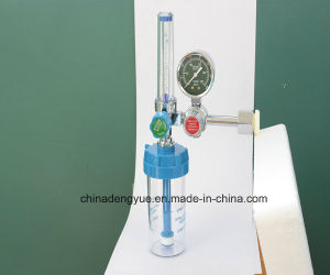 Oxygen Gas Pressure Regulator Oxygen Inhalator Gauge Regulator, Oxygen Regulator Medical Equipment Hospital Equipment pictures & photos