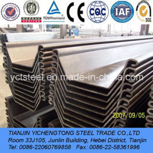 Steel Sheet Piling Price Q235-U-Shape, Z-Shape pictures & photos