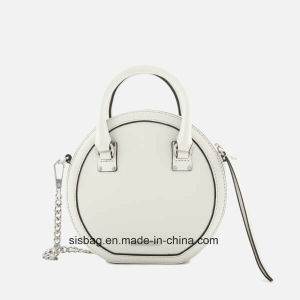 China High Quality Women Circle Bag Round Shape Handbag - China ...