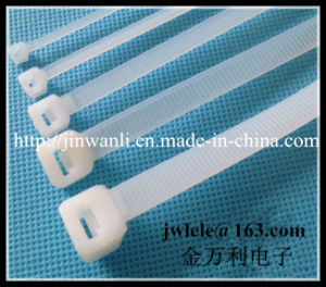 9.0X400mm CE, SGS, UV Certificated Self-Locking Nylon Cable Tie pictures & photos