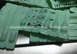 Automatic Pharmaceutical Plastic Ampoule Filling and Sealing Machine pictures & photos