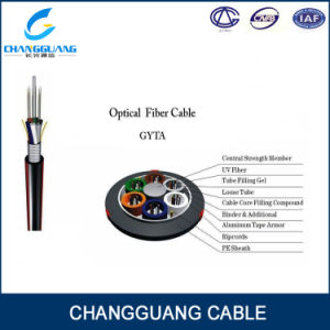 Common Widely Used GYTA/S Fiber Optic Cable for Aerial/Direct Buried/Duct