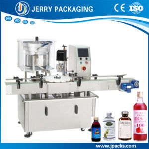 Automatic Wine Aluminum Cap Screwing Capping Machine for Glass Bottle pictures & photos
