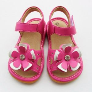 0a6a144f0715d Hot Pink Baby Shoes Summer Girl Shoes Childern Shoes