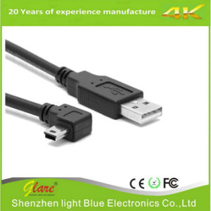 Right Angle 90 Degree USB to Mini USB Cable