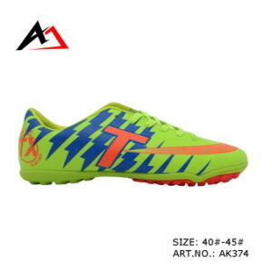 Sports Soccer Shoes Comfortable for Men Football Training (AK374) pictures & photos
