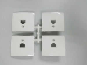Cable TV/Tel Wall Socket Mould pictures & photos