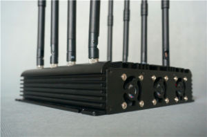 8 Antennas Desktop Cell Phone & WiFi Signal Jammer pictures & photos