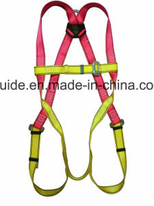 Full Body Harness, Safety Harness, Seat Belt, Safety Belt, Webbing with Three-Point Fixed Mode