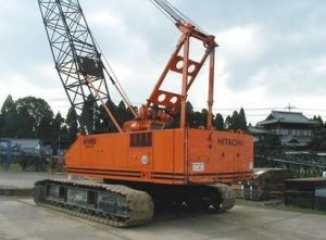 Second-Hand Hitachi Hydraulic Track Crane Crawler Crane 50 Tons with Good Condition Kh180