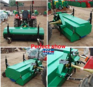 China Farm Used Tractor Mounted Small Branches Street Sweeper pictures & photos
