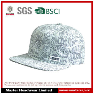 Sublimation Printing Canvas Fabric Snapback Hat Caps