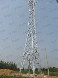 HDG Microwave Mast Steel Tower