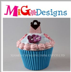 Wholesale Cupcake Ceramic Cookie Biscuit Storage Canister pictures & photos