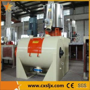 Horizontal Heating and Cooling PVC Compounding Mixer for WPC pictures & photos