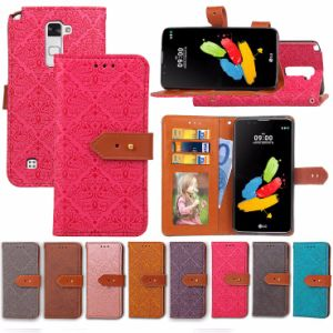 Leather Wallet Case for LG Stylus 2 pictures & photos