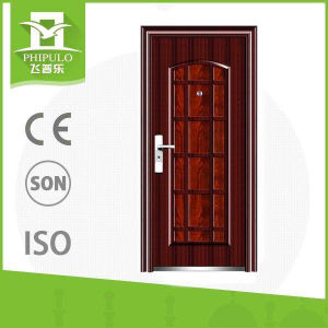 Steel Material Entry Door with Modern Design