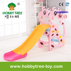 2017 Deer Style Cheap Baby Slide and Swing with Ce (HBS17005C)