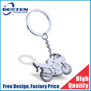 Customized Qatar UAE National Day Metal Motorcycle Motorbike Keychain