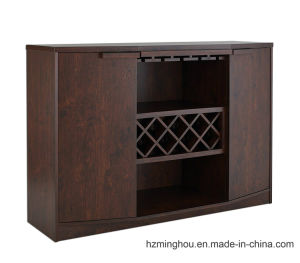 High End Sumptuous Furniture Wood Cabinet with Wine Storage